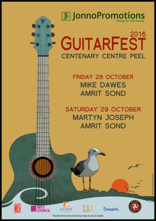 GuitarFest 2016 - Mike Dawes & Amrit Sond @ Centenary Centre | Isle of Man