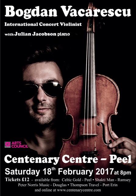 Bogdan Vacarescu and Julian Jacobson @ Centenary Centre | Isle of Man