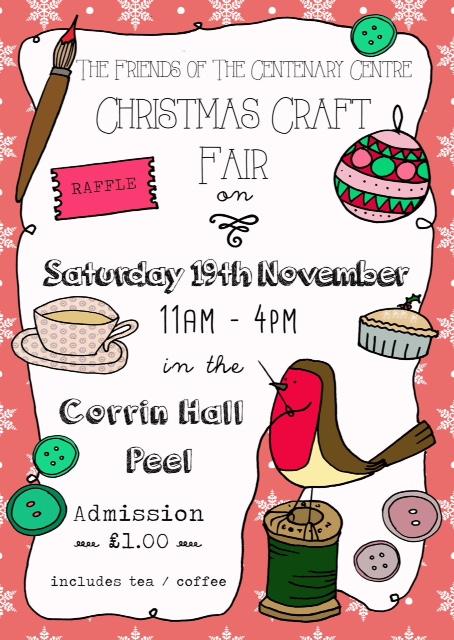 Christmas Craft Fair - Corrin Hall @ Corrin Hall