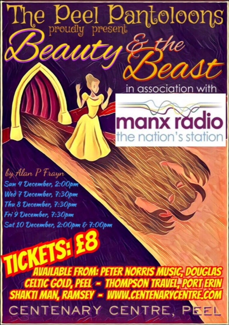 Peel Pantoloons - Beauty and the Beast - Matinee @ Centenary Centre | Isle of Man