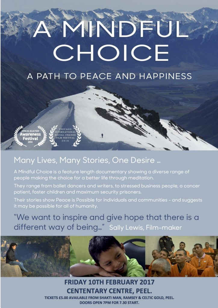 Film - A Mindful Choice @ Centenary Centre | Isle of Man