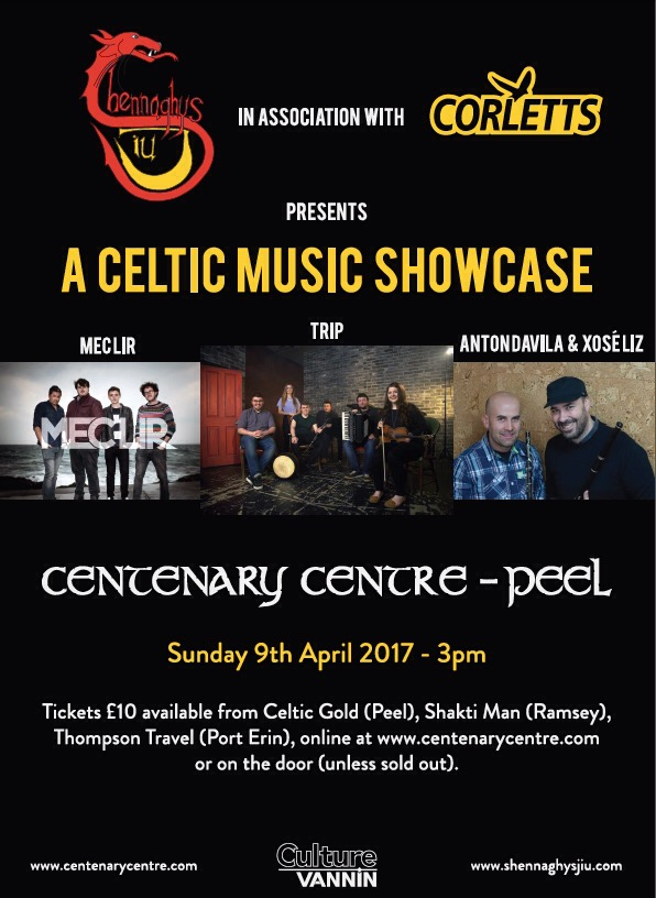 Shennaghys Jiu - A Celtic Music Showcase @ Centenary Centre