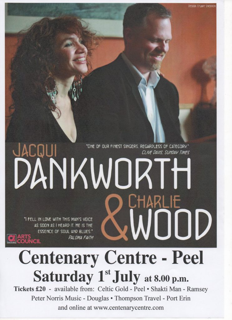 Jacqui Dankworth & Charlie Wood @ Centenary Centre | Isle of Man