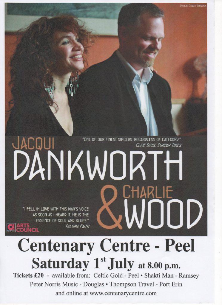 Jacqui Dankworth & Charlie Wood @ Centenary Centre | Isle of Man