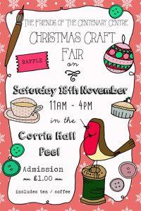Christmas Craft Fair @ Corrin Hall, Peel