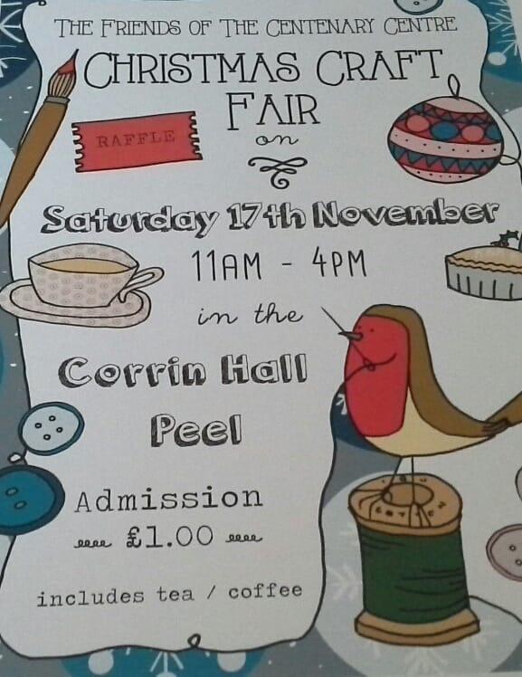 Christmas Craft Fair @ Corrin Hall | Peel | Isle of Man