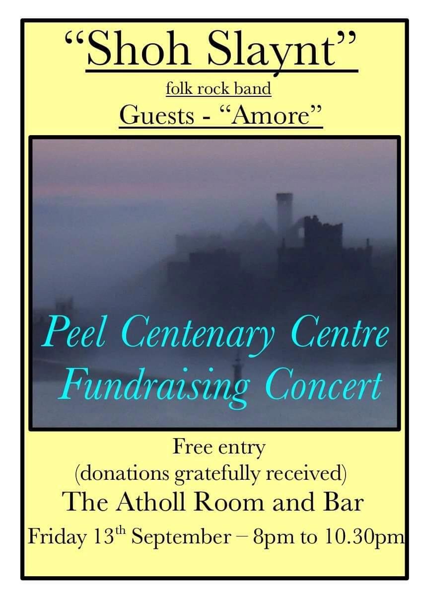 Friday Folk Evening with Shoh Slaynt @ Peel Centenary Centre
