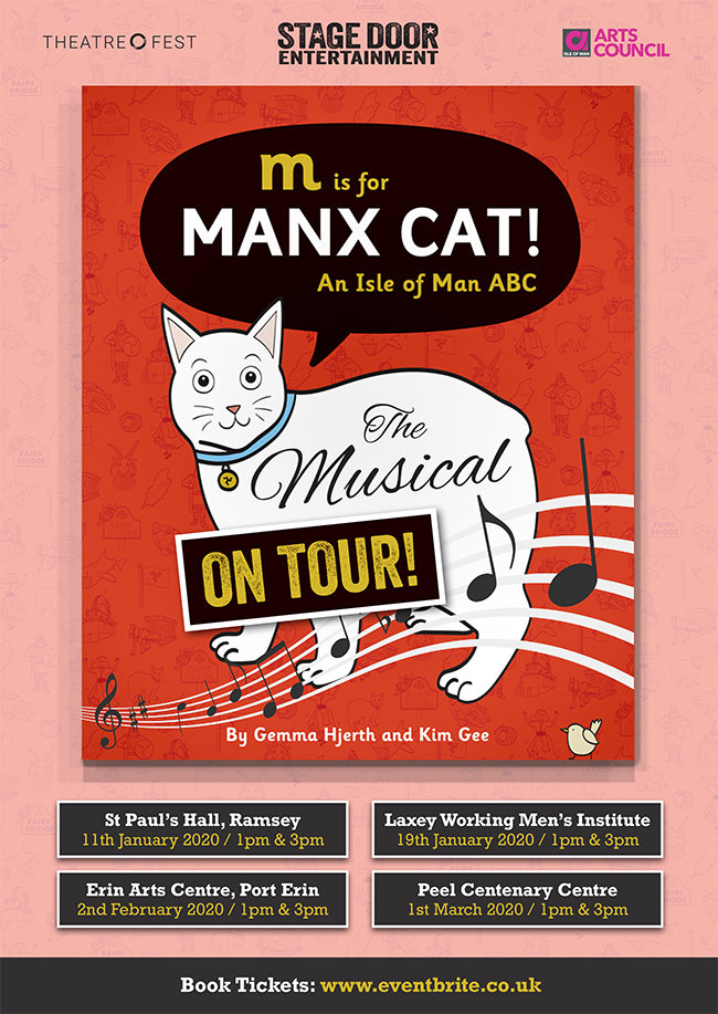 M is for Manx Cat! @ Peel Centenary Centre