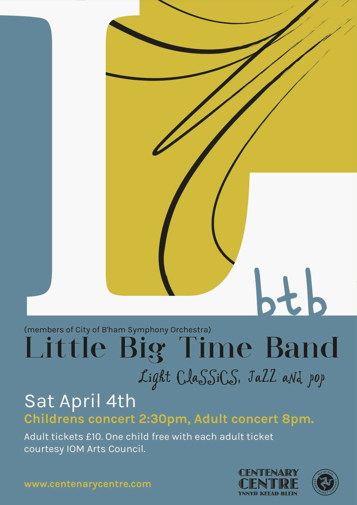 Little Time Big Band - Children's Concert - POSTPONED @ Peel Centenary Centre
