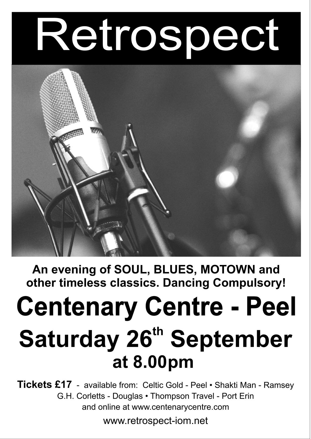 Retrospect LIVE! (SOLD OUT) @ Centenary Centre