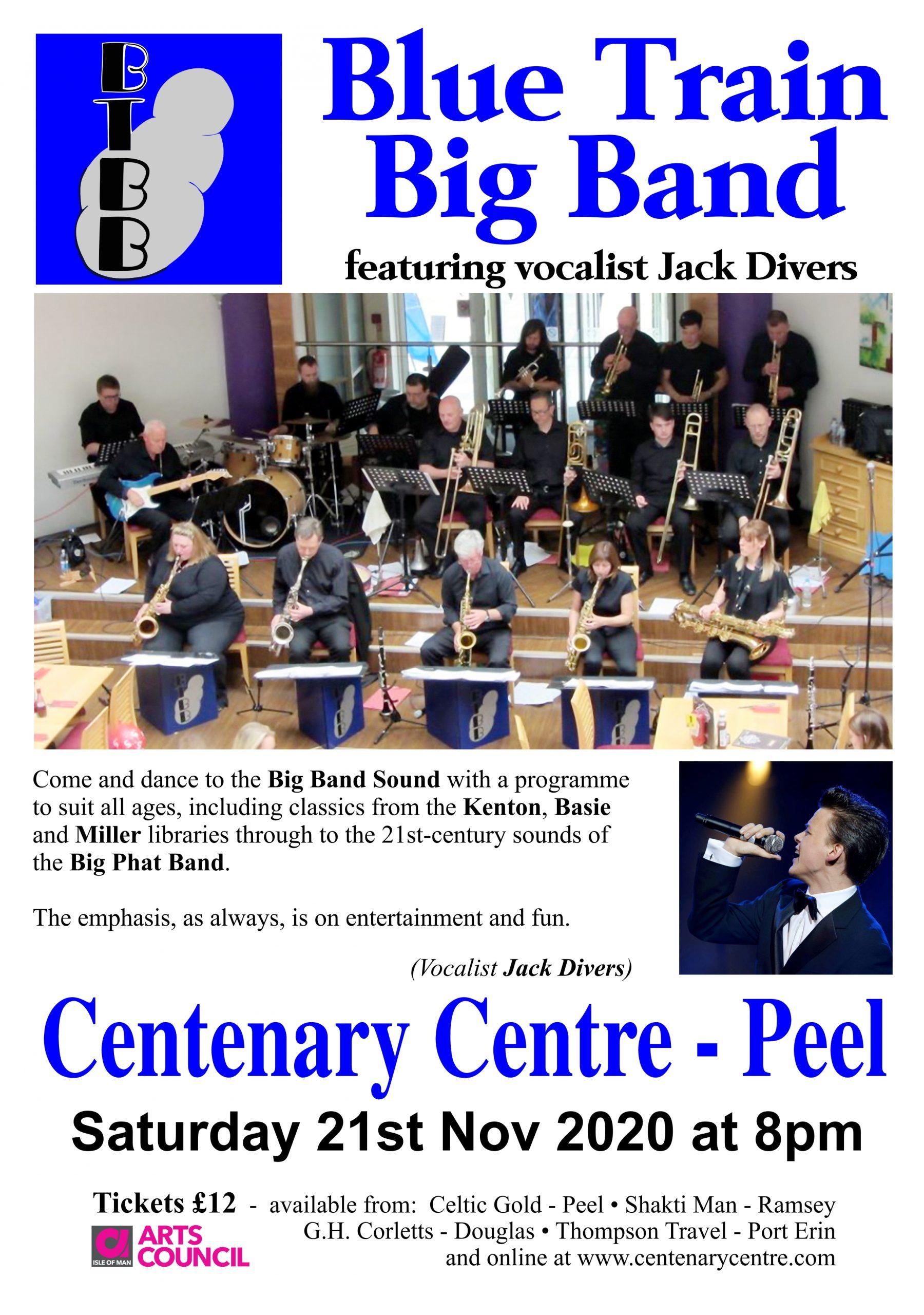 Blue Train Big Band @ Centenary Centre