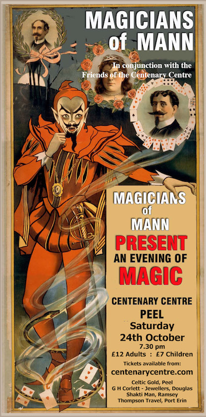 Magicians of Mann @ Centenary Centre