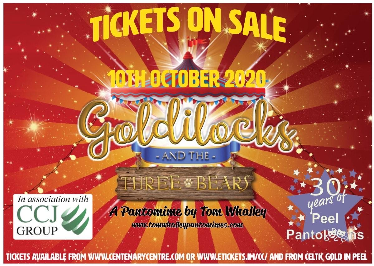 Peel Pantoloons Presents - Goldilocks and The Three Bears @ Centenary Centre