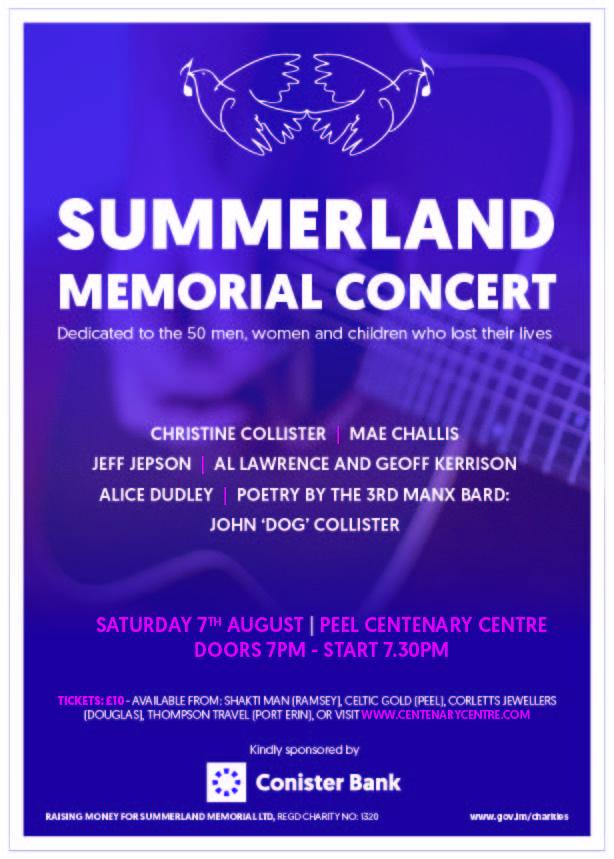 Summerland Memorial Concert @ Centenary Centre