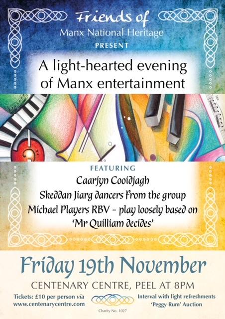A light-hearted evening of Manx entertainment @ Centenary Centre